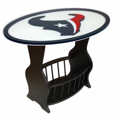 NFL Logo End Table NFL Team: Houston Texans
