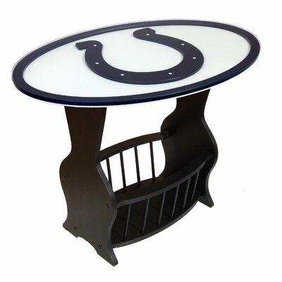 NFL Logo End Table NFL Team: Indianapolis Colts
