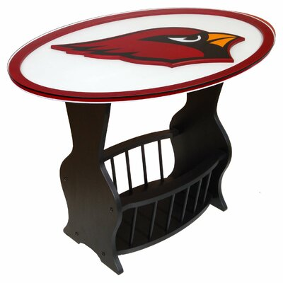 NFL Logo End Table NFL Team: Arizona Cardinals
