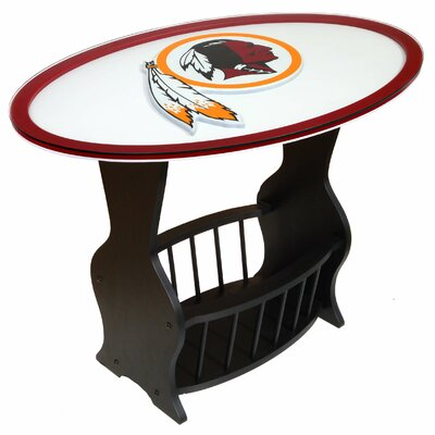 NFL Logo End Table NFL Team: Washington Redskins