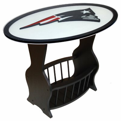 NFL Logo End Table NFL Team: New England Patriots N0537-NEP