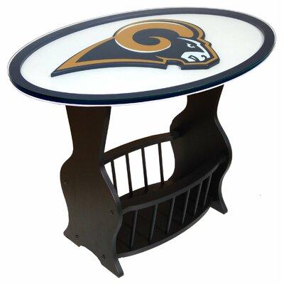 NFL Logo End Table NFL Team: St. Louis Rams