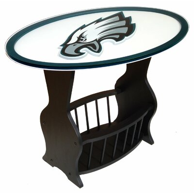 NFL Logo End Table NFL Team: Philadelphia Eagles