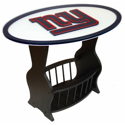 NFL Logo End Table NFL Team: New York Giants
