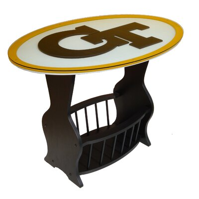 NCAA Glass End Table NCAA Team: Georgia Tech