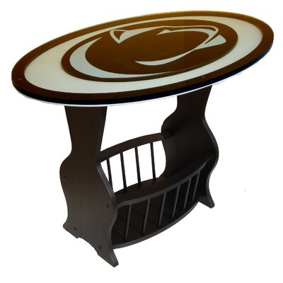 NCAA Glass End Table NCAA Team: Penn State