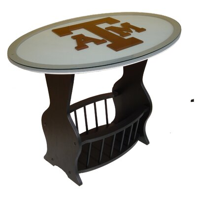 NCAA Glass End Table NCAA Team: Texas A&M