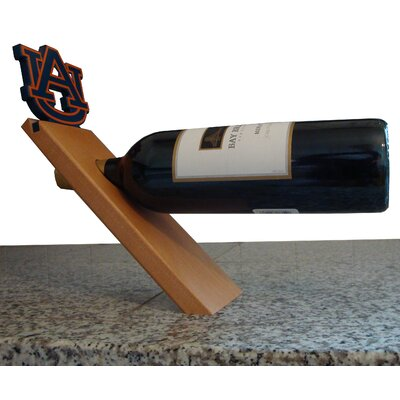 NCAA Floating Stand 1 Bottle Tabletop Wine Rack NCAA Team: Auburn