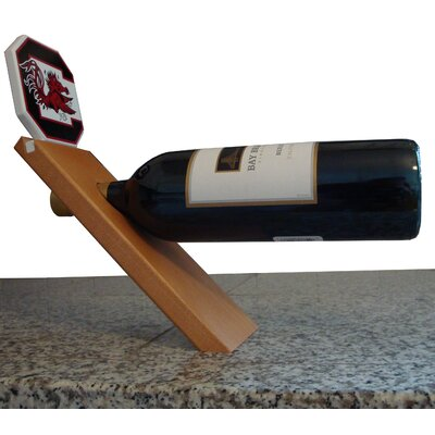 NCAA Floating Stand 1 Bottle Tabletop Wine Rack NCAA Team: South Carolina