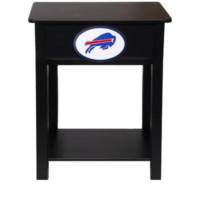 Nfl End Table With Storage NFL Team: Buffalo Bills