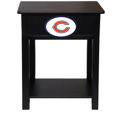 NFL End Table NFL Team: Chicago Bears