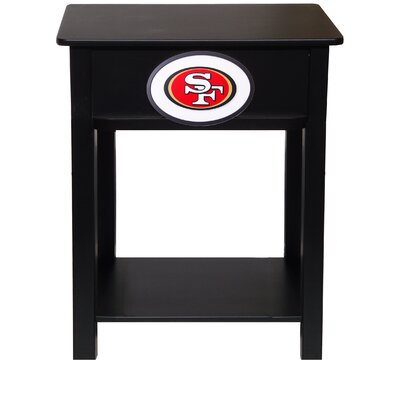 NFL End Table NFL Team: San Francisco 49ers