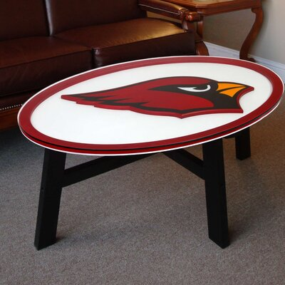 NFL Logo Coffee Table NFL Team: Arizona Cardinals