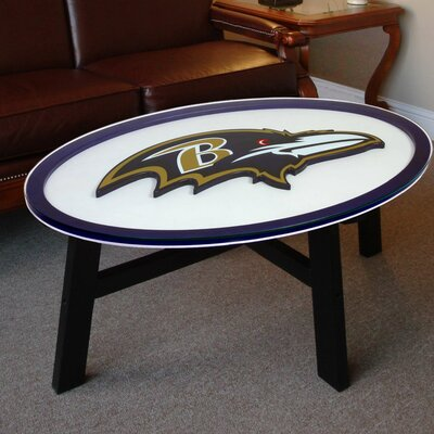 Nfl Logo Coffee Table NFL Team: Baltimore Ravens
