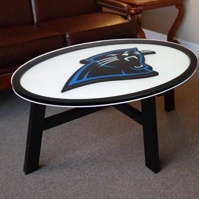 NFL Logo Coffee Table NFL Team: Carolina Panthers
