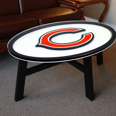 NFL Logo Coffee Table NFL Team: Chicago Bears