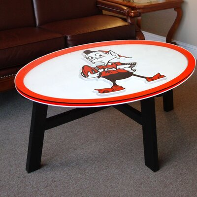 NFL Logo Coffee Table NFL Team: Cleveland Browns