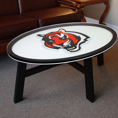 NFL Logo Coffee Table NFL Team: Cincinnati Bengals