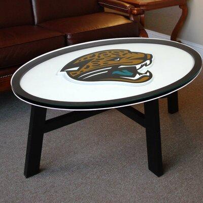 NFL Logo Coffee Table NFL Team: Jacksonville Jaguars