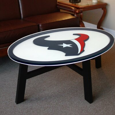 Nfl Logo Coffee Table NFL Team: Houston Texans