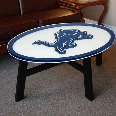NFL Logo Coffee Table NFL Team: Detroit Lions