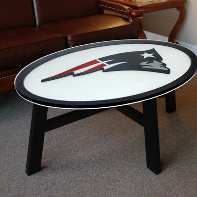NFL Logo Coffee Table NFL Team: New England Patriots N0518-NEP