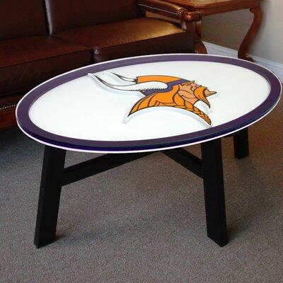 NFL Logo Coffee Table NFL Team: Minnesota Vikings