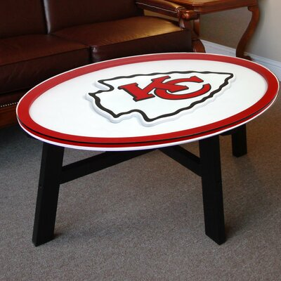 NFL Logo Coffee Table NFL Team: Kansas City Chiefs