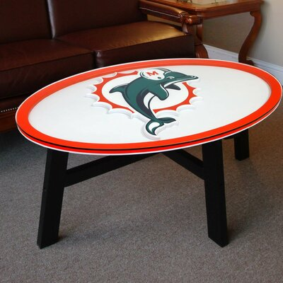 Nfl Logo Coffee Table NFL Team: Miami Dolphins