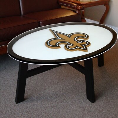 NFL Logo Coffee Table NFL Team: New Orleans Saints