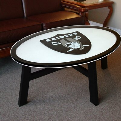 NFL Logo Coffee Table NFL Team: Oakland Raiders