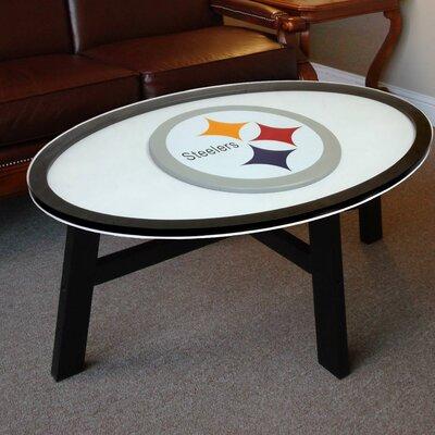 NFL Logo Coffee Table NFL Team: Pittsburgh Steelers
