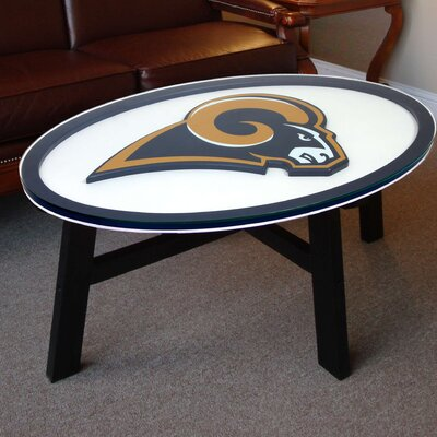 Nfl Logo Coffee Table NFL Team: St. Louis Rams