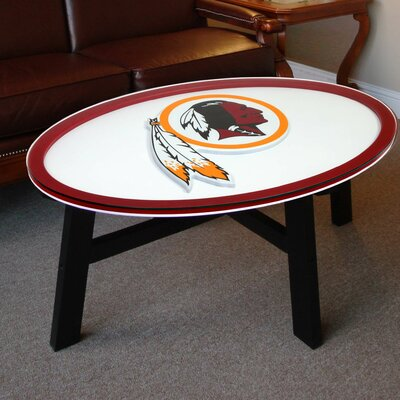 Nfl Logo Coffee Table NFL Team: Washington Redskins