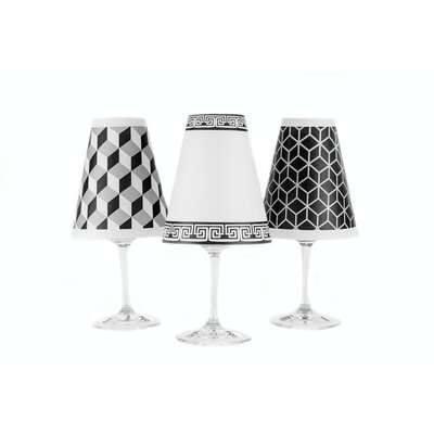 New York 4.5 Paper Empire Candelabra Shade Color: White
