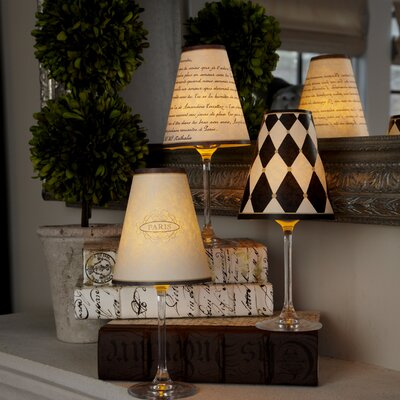Paris 4.5 Paper Empire Candelabra Shade