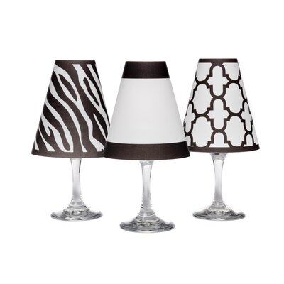 Manhattan 4.5 Paper Empire Candelabra Shade Color: Black