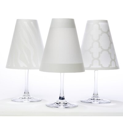 Manhattan 4.5 Paper Empire Candelabra Shade Color: White