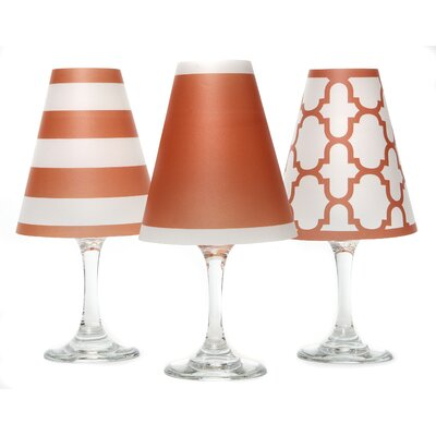 Nantucket 4.5 Paper Empire Candelabra Shade Color: Fiesta Orange