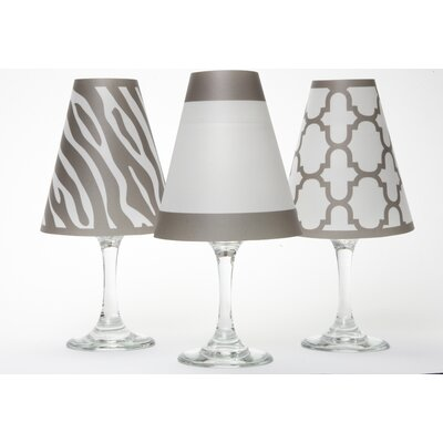 Manhattan 4.5 Paper Empire Candelabra Shade Color: Grey