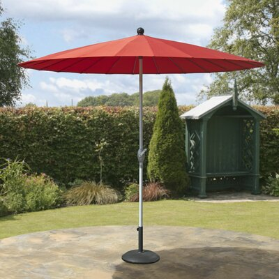 8 Market Umbrella Fabric: Red