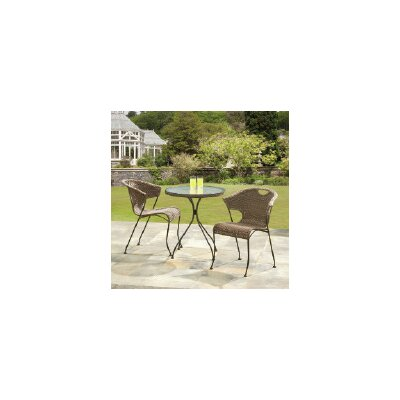Wadebridge 3 Piece Bistro Set