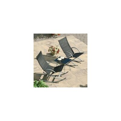 Bucky 3 Piece Rocking Chair Seating Group