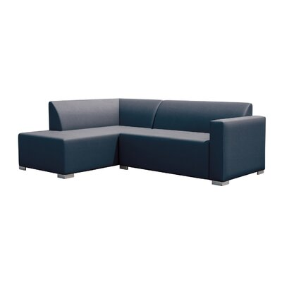 Torino Right Corner Sofa Finish: Blue