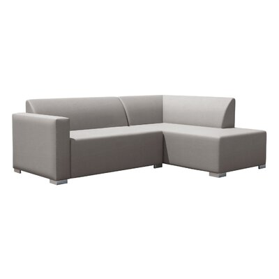 Torino Left Corner Sofa Finish: Light Gray