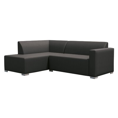 Torino Right Corner Sofa Finish: Graphite