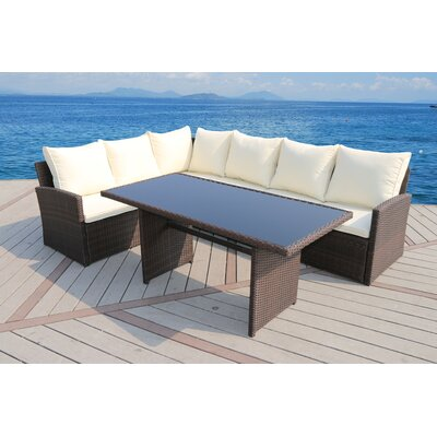 Valuable Rattan Sofa Set Product Photo