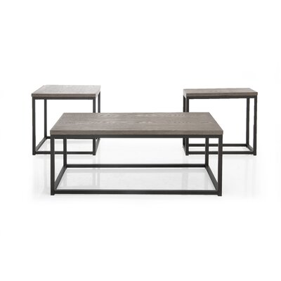 Bartow 3 Piece Coffee Table Set