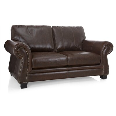 Bon Leather Loveseat