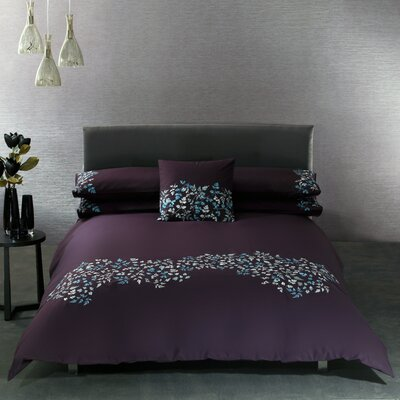 Illuminated Fern Duvet Cover Set Size: King